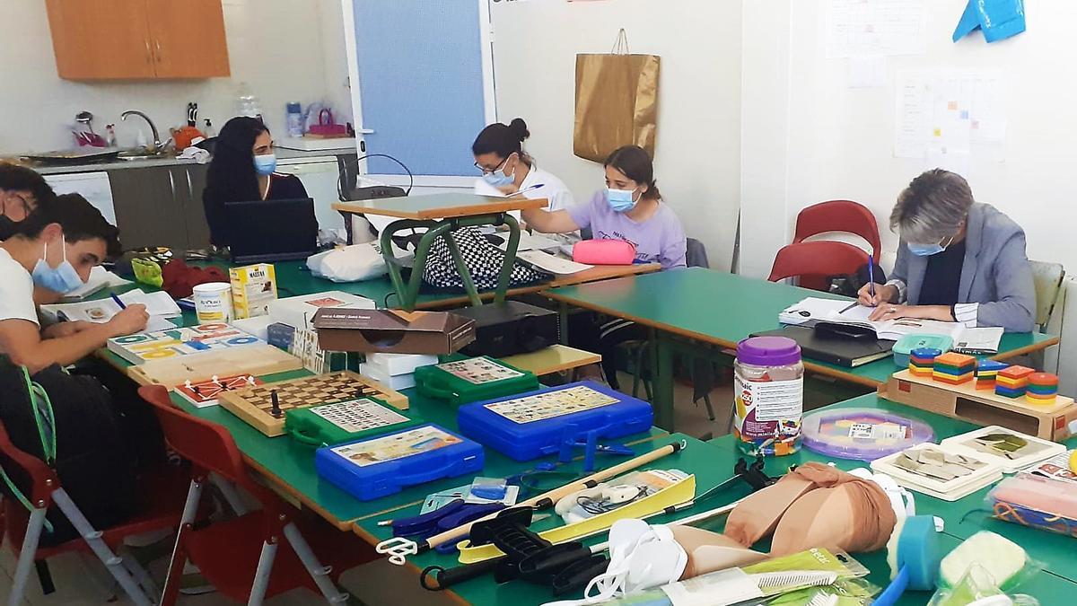 Estudiantes del ciclo en una de sus aulas