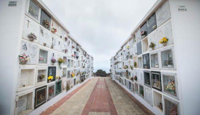 Cementerio de San Luis, en La Laguna