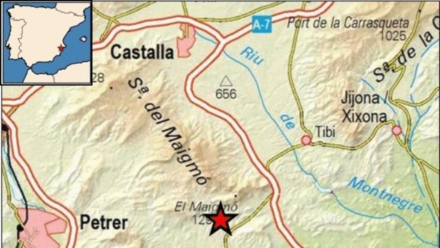 Agost registra un terremoto de 1,5 grados