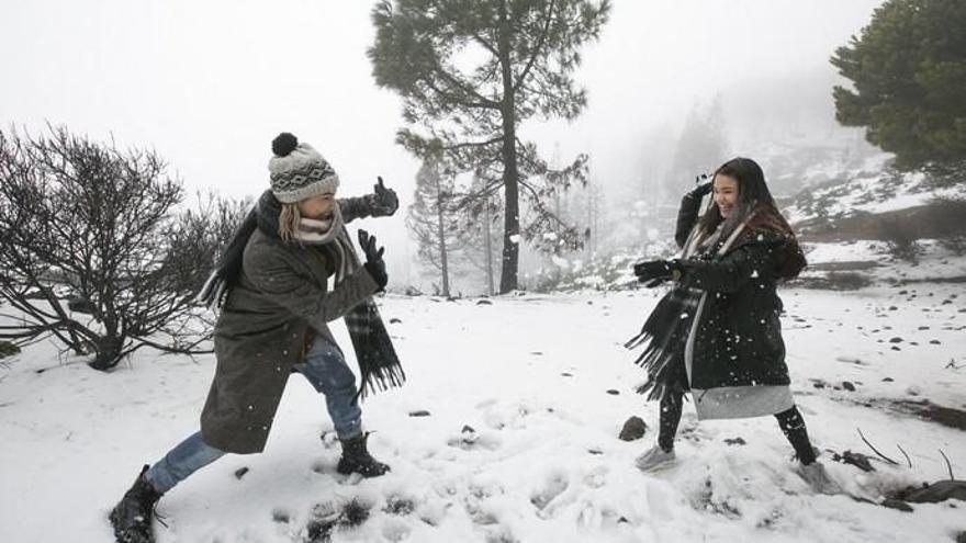 Gran Canaria, en alerta por nevadas