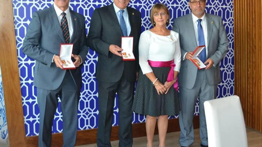 Premios en la gala de la Liga Naval Española