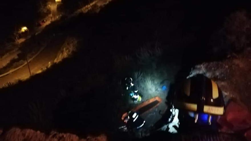 Un hombre se precipita por un barranco en Las Palmas de Gran Canaria