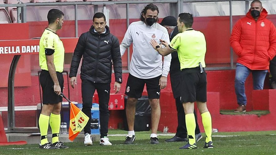 Pérez Pallás descobreix un fora de joc mil·limètric de Bueno i frustra el Girona