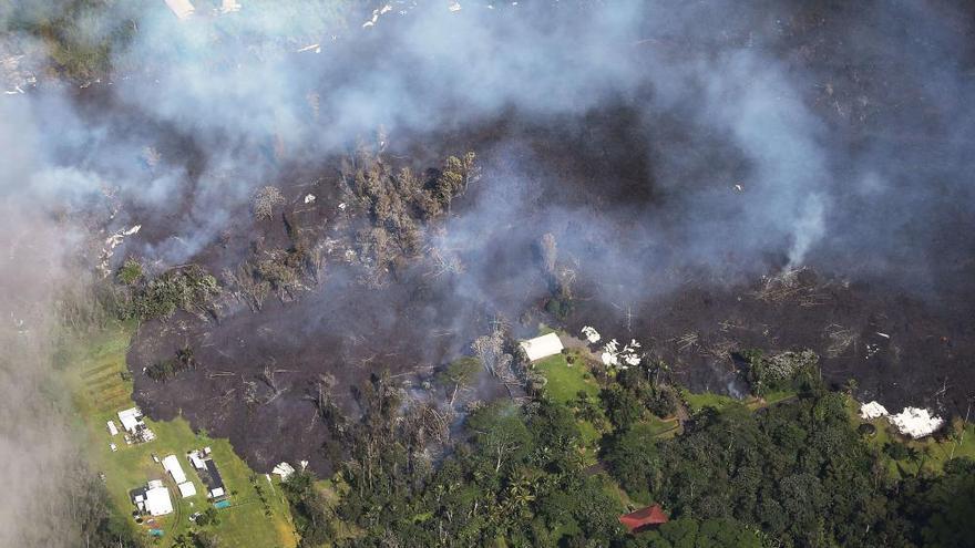 El volcán Kilauea obliga a evacuar a más de 1.700 personas en Hawái