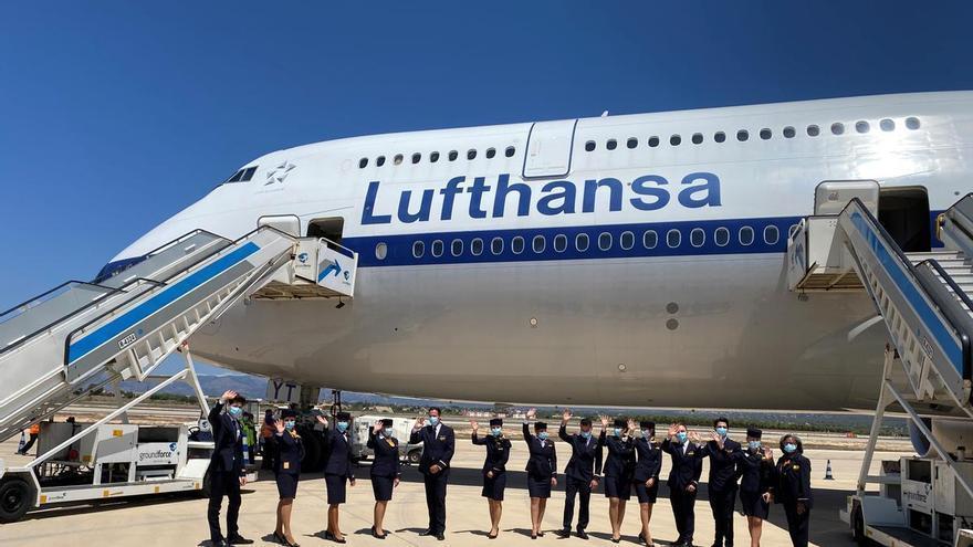 La 'Reina de los Cielos' llega a Mallorca: Lufthansa habilita su avión más grande ante el aumento de la demanda de viajes a la isla desde Alemania