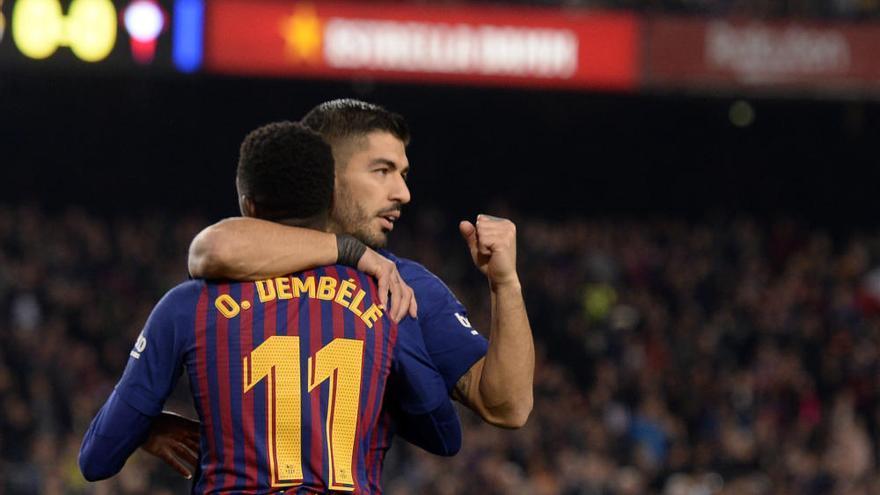 Las mejores imágenes del Barcelona - Celta