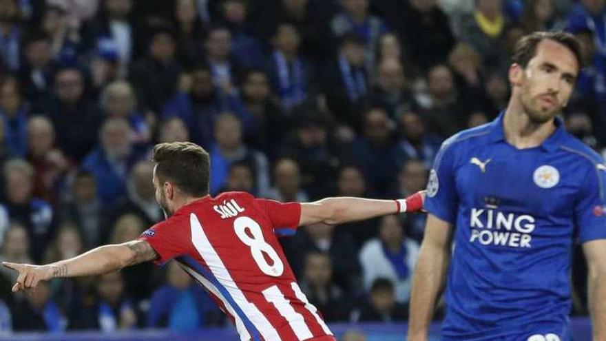 Saúl Ñíguez impulsa al Atlético, otra vez entre los cuatro mejores de Europa