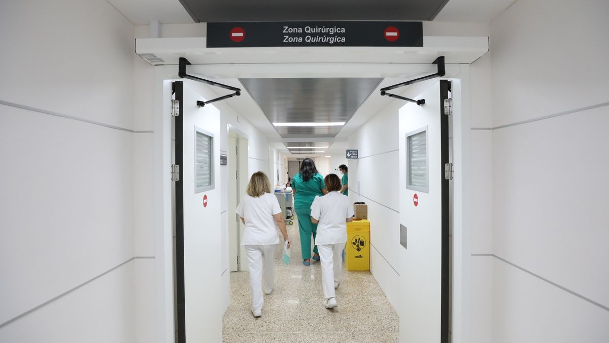 Personal sanitario en un hospital de la provincia de Alicante, en imagen de archivo