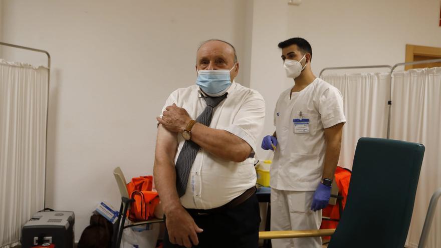 Zamora comienza a vacunar con tercera dosis a los mayores de 62 residencias