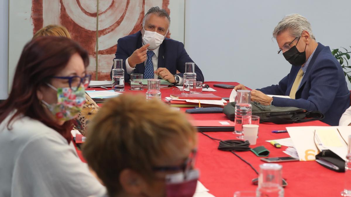 Consejo de Gobierno de este juves presidido por Ángel Víctor Torres.