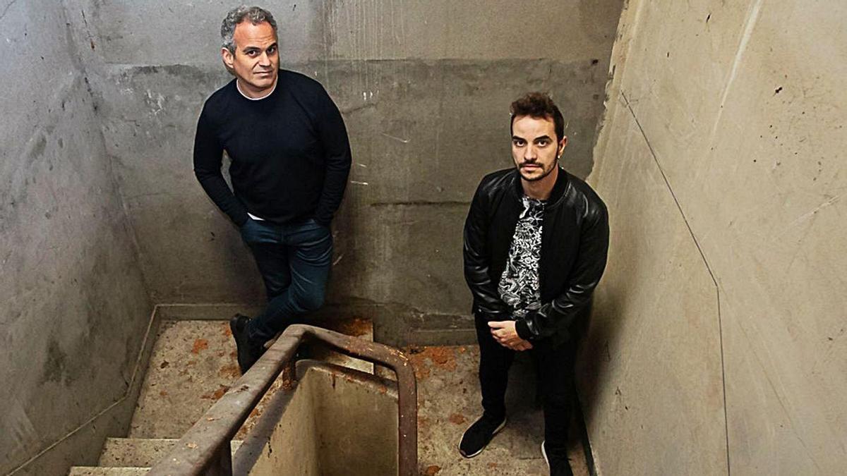 Ismael Berdei (izquierda) y Bruno Couceiro, del dúo Two Faces.   | // LA OPINIÓN