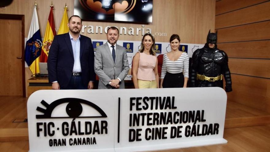 El actor Fernando Tejero, Guayarmina de Honor del VII Festival Internacional de Cine de Gáldar
