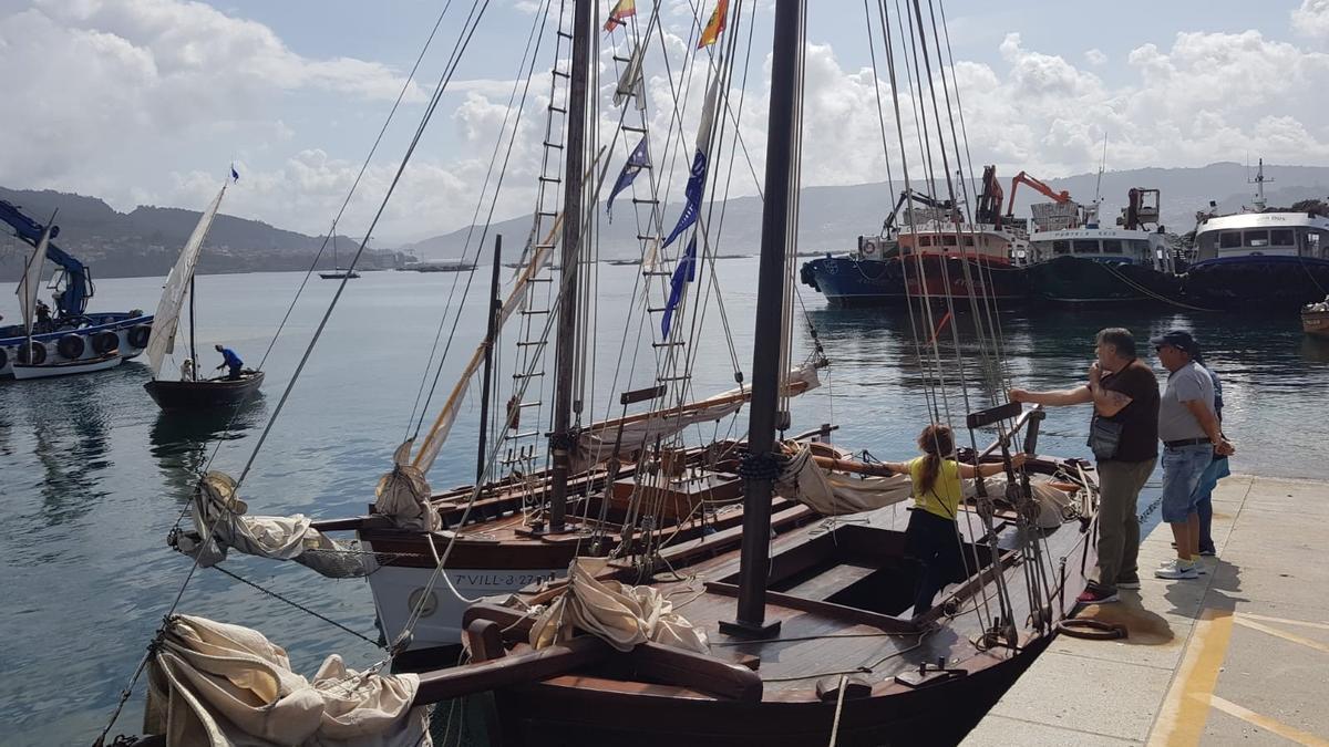 Navegación de embarcaciones históricas organizada cada verano por Sueste. / G.N.