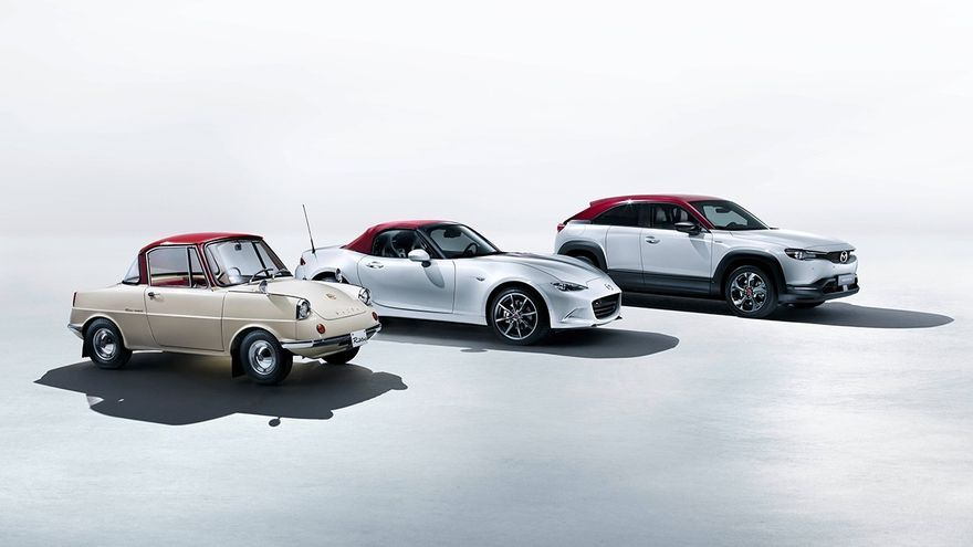 Mazda prepara una edición especial de todos sus coches para celebrar sus 100 años