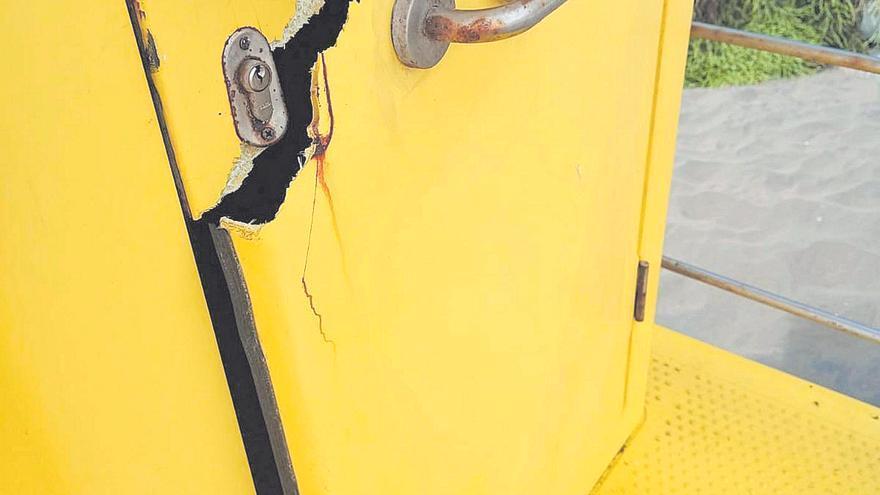 Las Alcaravaneras experimenta un aumento del vandalismo este año