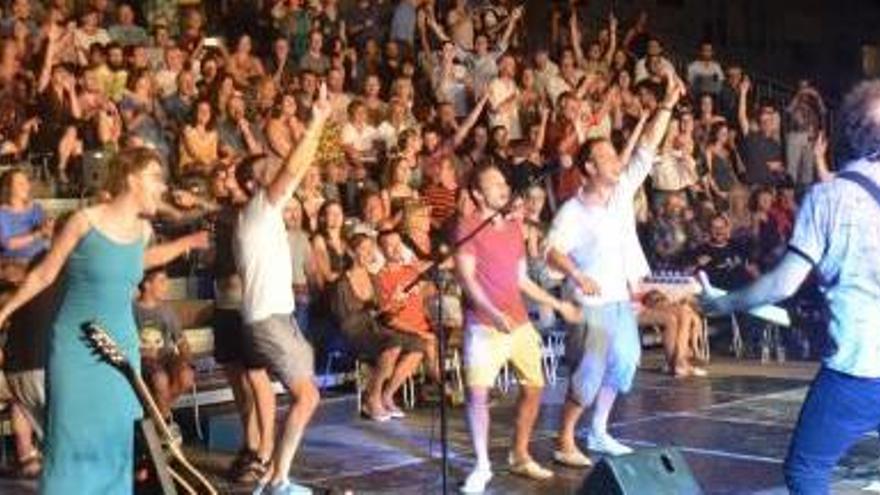 Els festivals de l'Escala, Portalblau i Fòrum reuneixen 12.000 espectadors