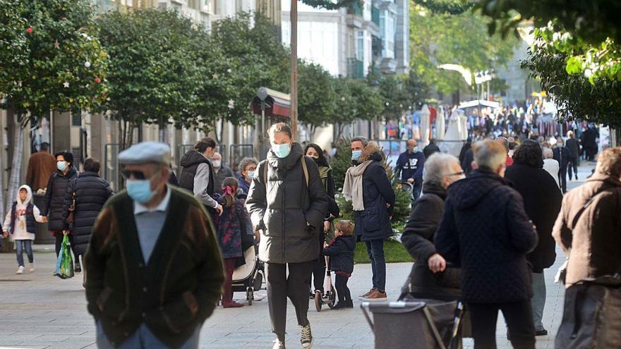 La incidencia acumulada de casos COVID en O Salnés es superior a la media gallega