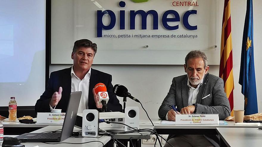 El president de Pimec reclama «activisme empresarial» a la pime del territori central