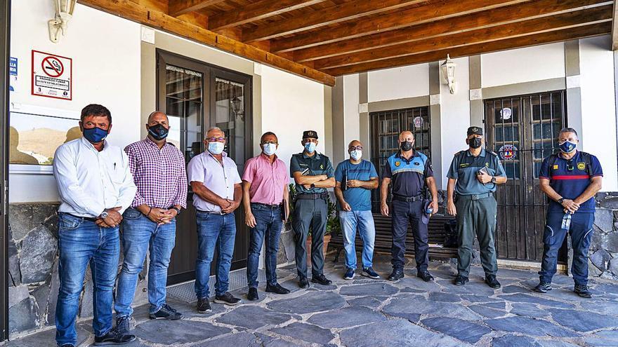 Seguridad en las fiestas de La Peña