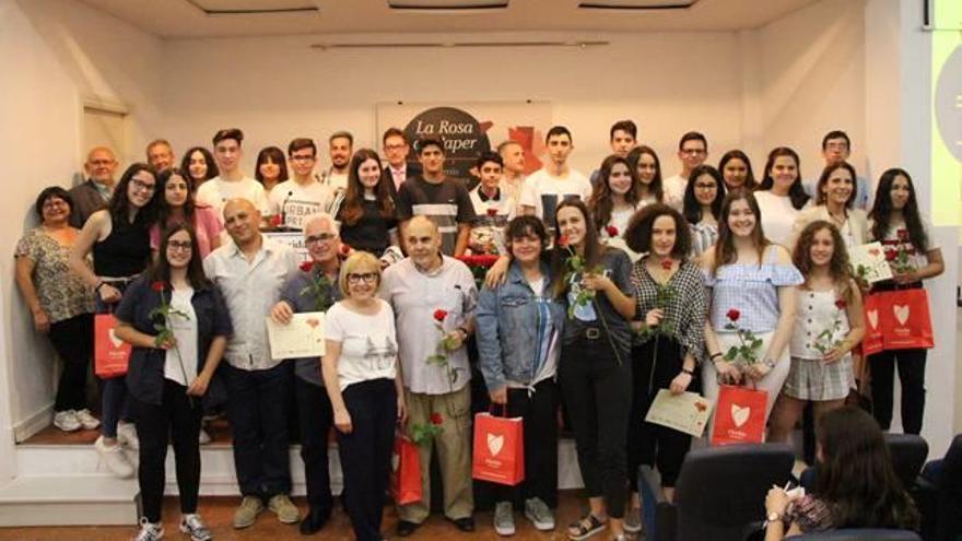 Florida lliura els premis de la XXIV edició de la Rosa de Paper