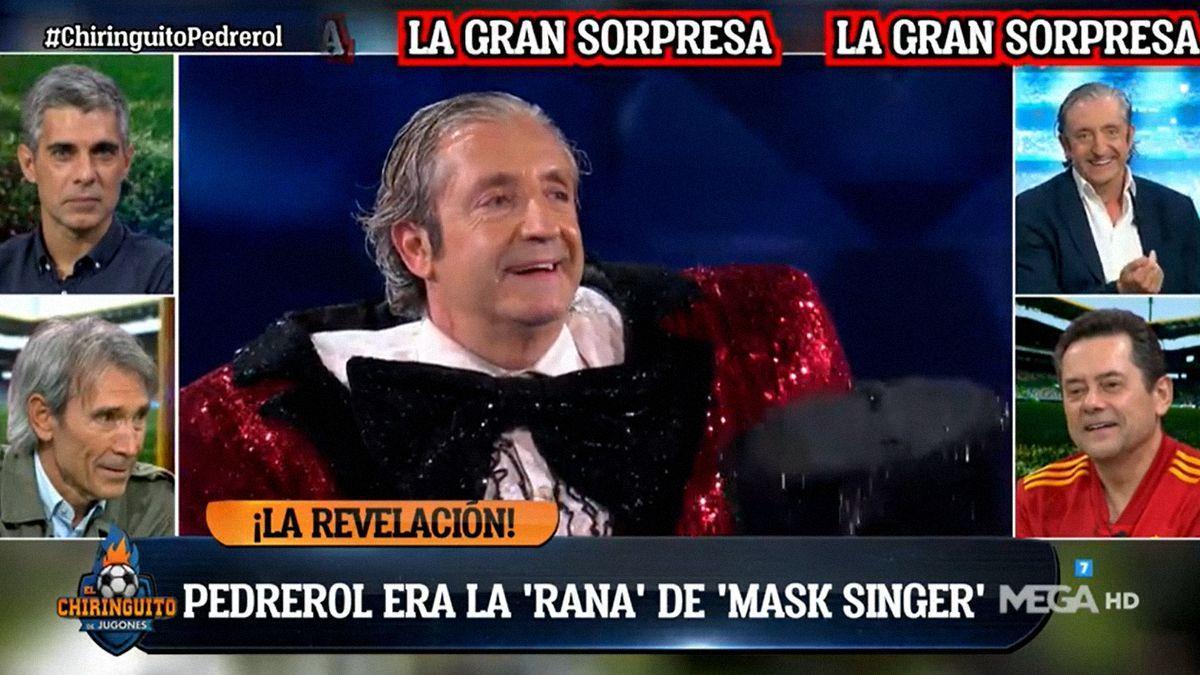 Josep Pedrerol com a Granota a Mask Singer