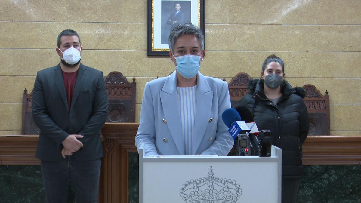 La alcaldesa de Calasparra, Teresa García.