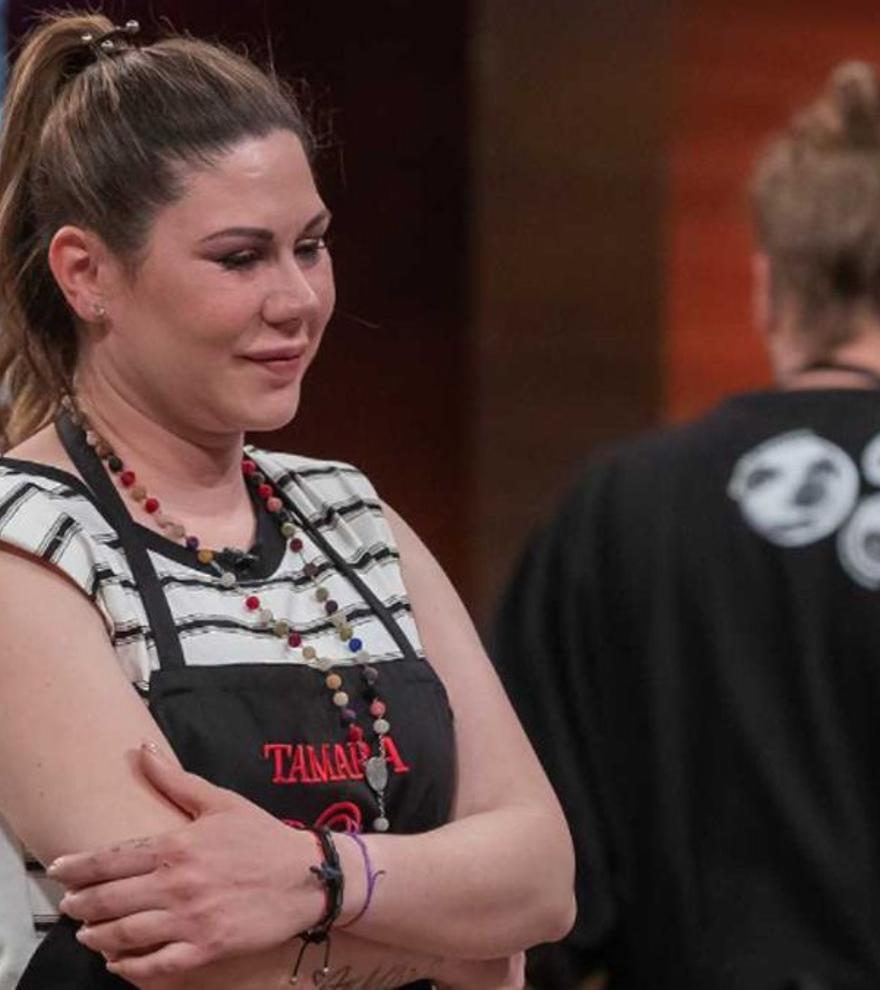 """Tamara, trencada davant la seva expulsió en 'Masterchef Celebrity': """"Tinc quatre nens que mantenir"""""""