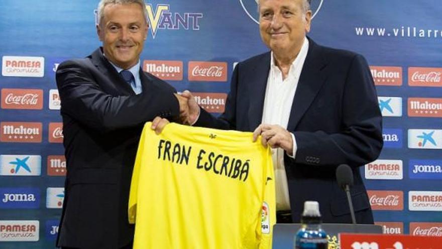 Fran Escribá regresa a Villarreal
