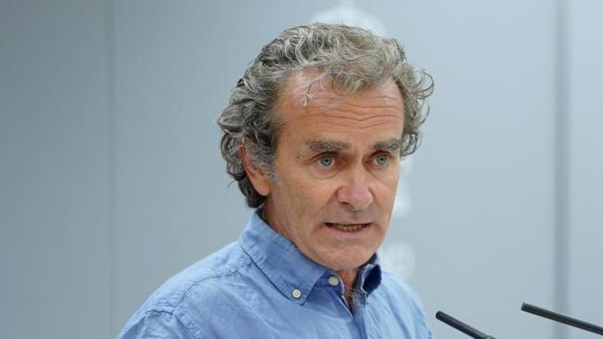 """Simón, sobre los datos de Madrid: """"No voy a entrar en el juego, esto se trata de controlar la epidemia"""""""