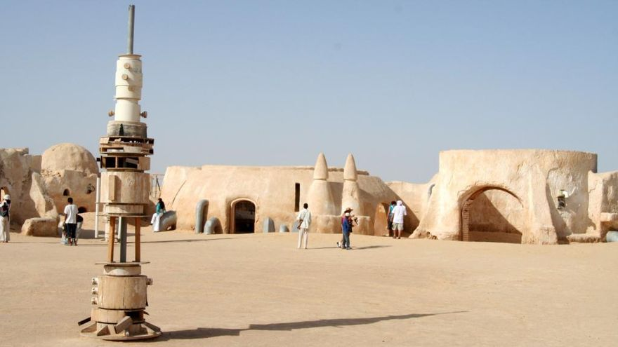 Seguint les petjades de Luke Skywalker a Tunísia