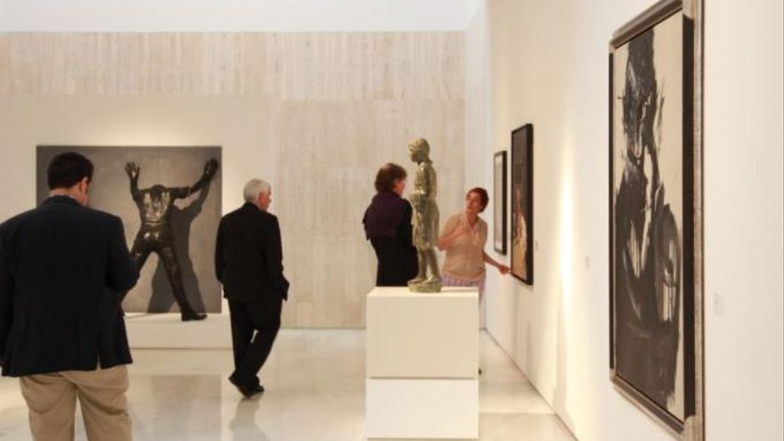 El MACA recibe una colección de 291 obras valorada en dos millones de euros
