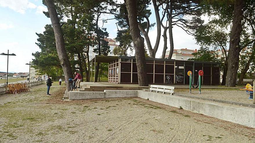 El kiosco de la playa de Compostela se gana al Ayuntamiento