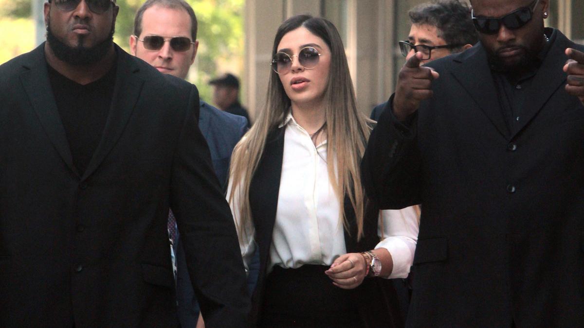 Emma Coronel, esposa del Chapo Guzmán.