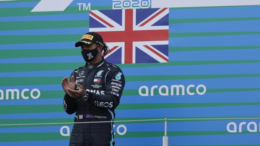 Hamilton venç al GP d'Eifel i fa història igualant el rècord de Schumacher