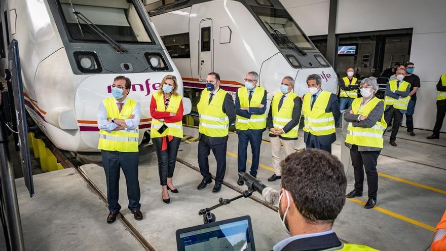 El nuevo taller de Renfe en Badajoz permite revisar los trenes con mayor frecuencia