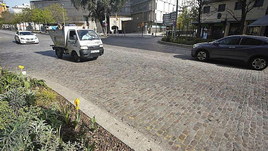 Girona reasfaltarà la rambla Xavier Cugat i el carrer Joaquim Vayreda