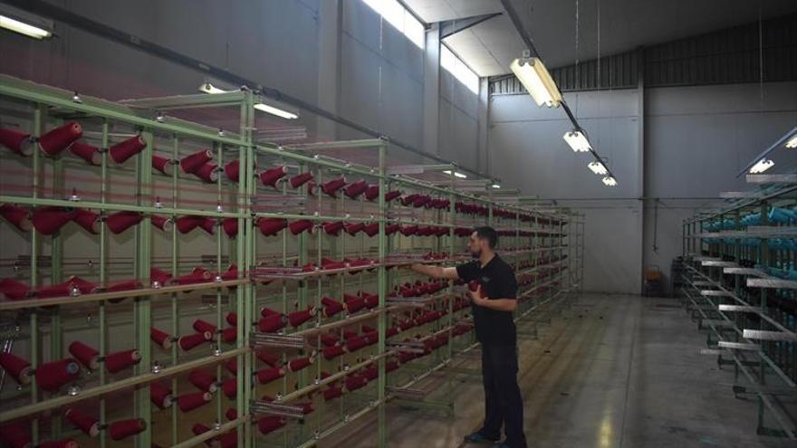 """""""La industria textil de Castellón espera más pedidos en un mes si se alarga el coronavirus"""""""