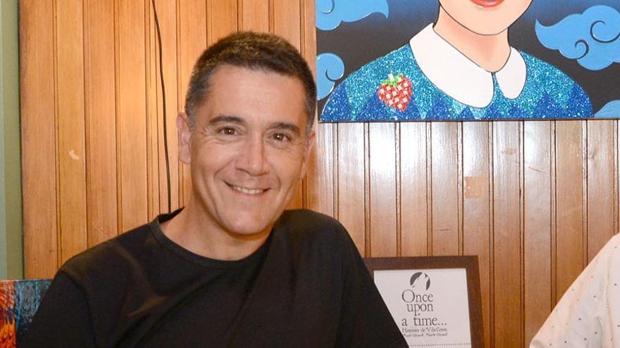 Martí Gironell parla de dos dels seus llibres a Garriguella