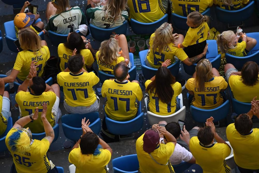 Mundial de Rusia: Suecia-Inglaterra