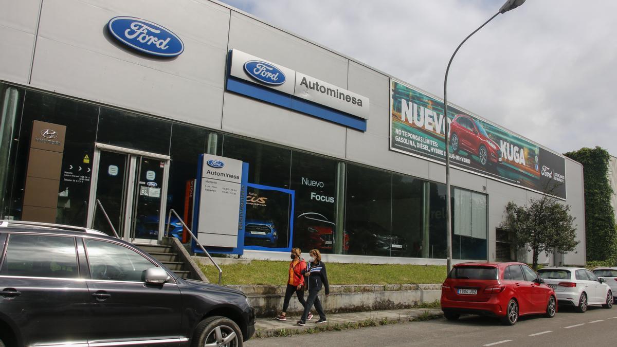 Instalaciones de Autominesa Artime en Mieres.