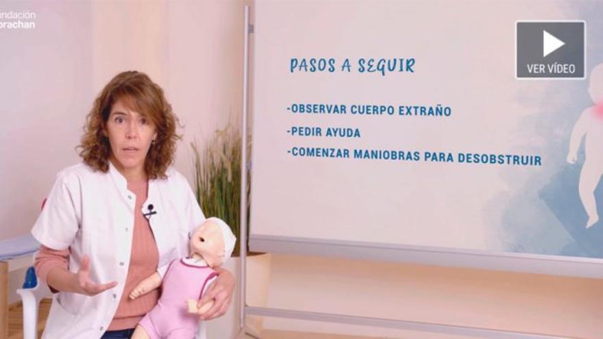 Doctora, ¿qué debo hacer si se atraganta mi bebé?