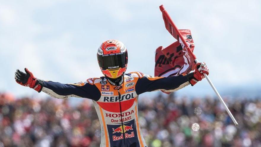 Márquez necessita dos punts més que Dovizioso per ser campió del món