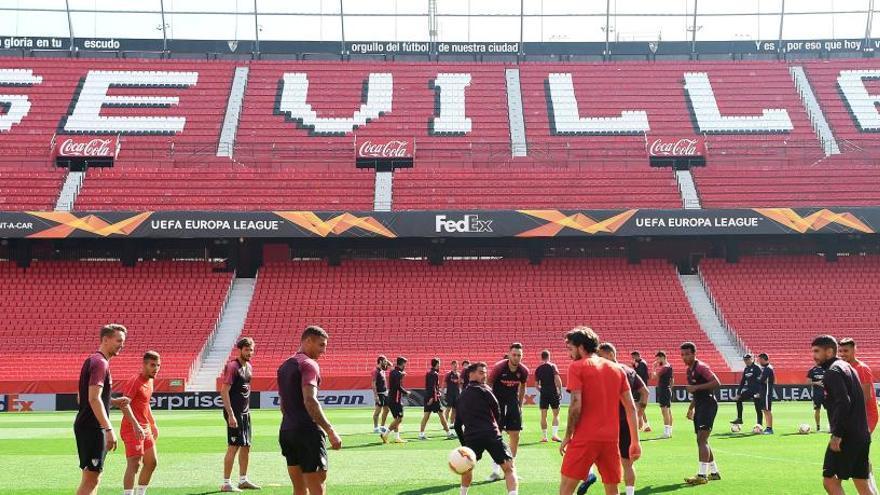 La UEFA aplaza el Sevilla-Roma y el Inter-Getafe