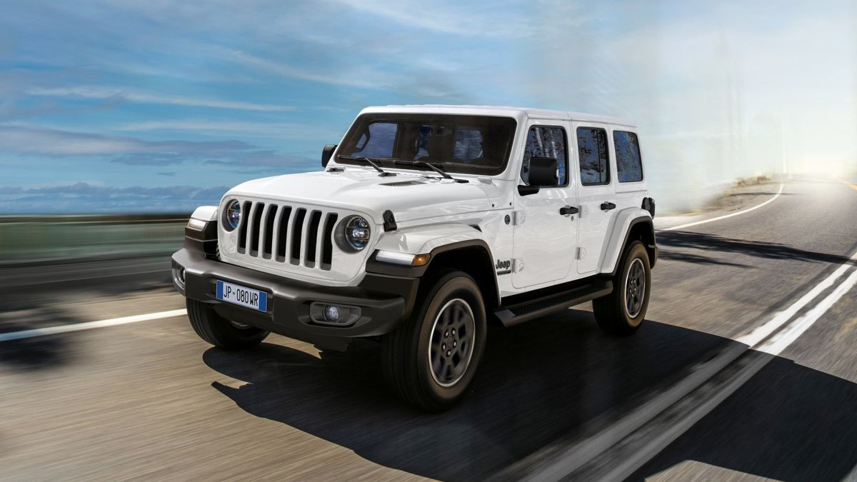 Jeep celebra sus 80 años de historia con la edición '80th Anniversary'