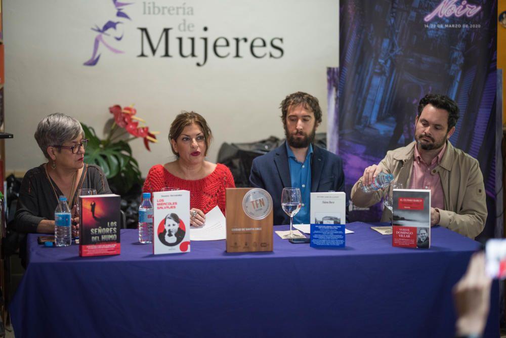 Tenerife Noir 2020 Finalistas Premio