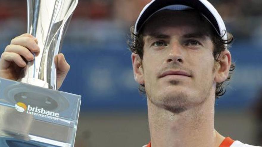 Murray estrena el año alzando el trofeo de Brisbane
