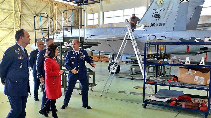 El Ejército del Aire renueva la flota  de aviones de combate de Gando