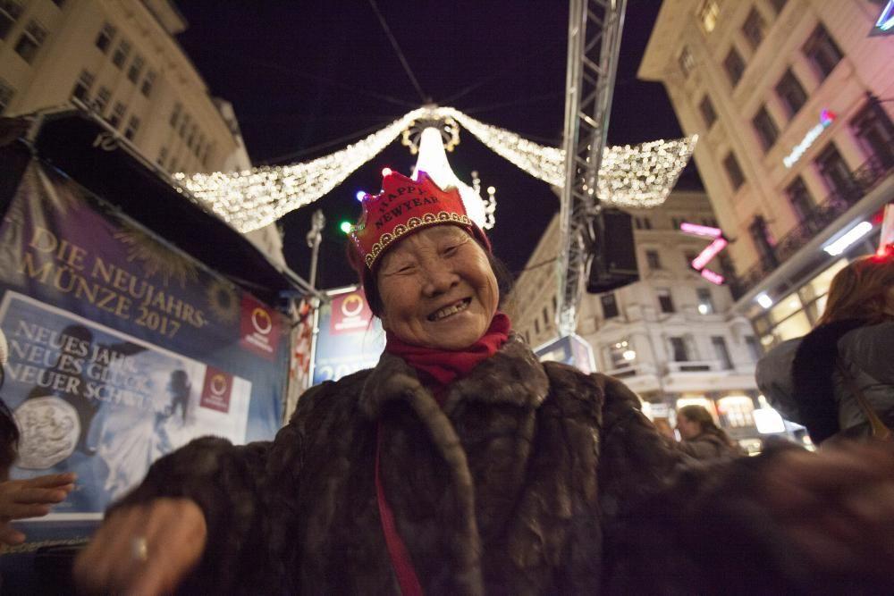 Nochevieja en Viena, Austria.