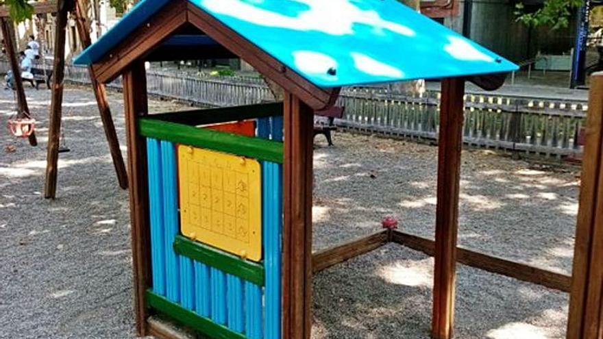 Manteniment de jocs infantils a Girona