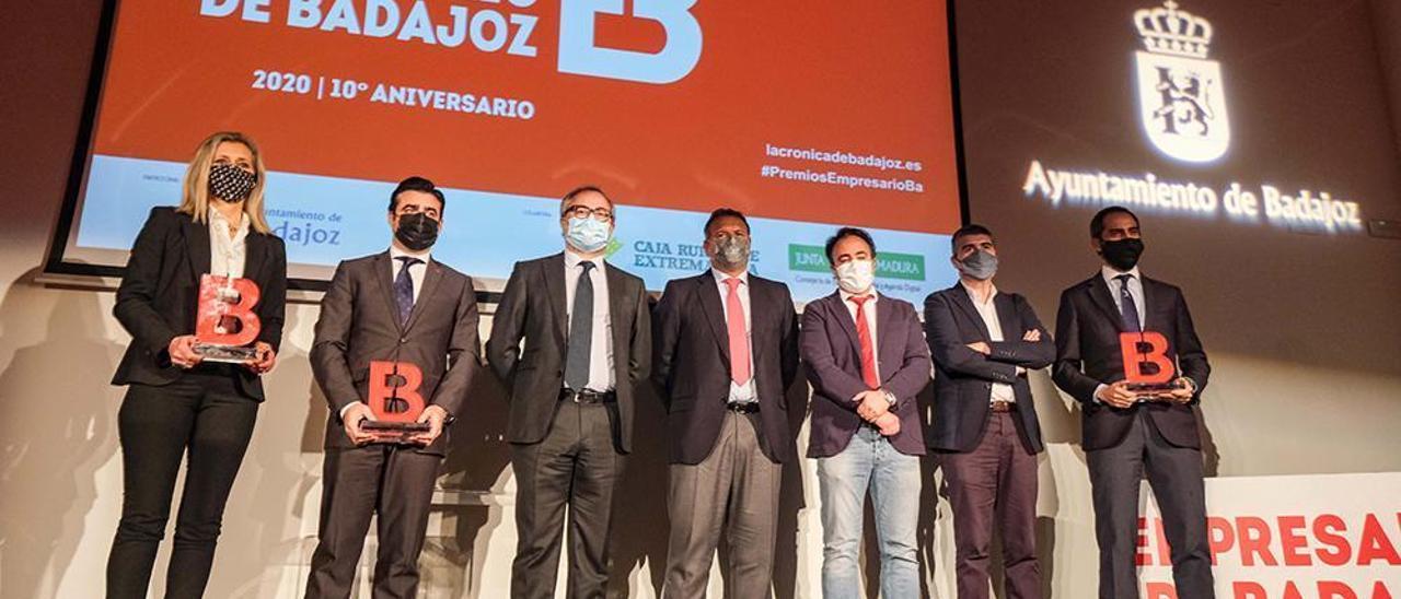 La emoción y el recuerdo presiden los Premios Empresario de Badajoz